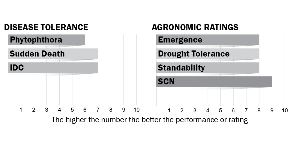 Disease tolerance and agronomic ratings for H33X0