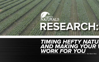 Hefty Naturals Research with Glenn Herz mobile header image