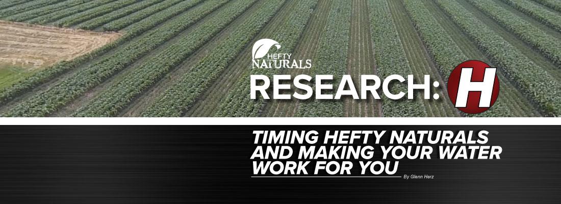 Hefty Naturals Research with Glenn Herz