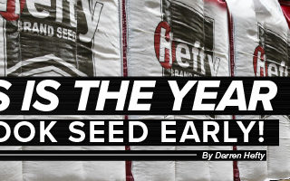 Agronomy. Answers. Yield. Aug/Sept 2020 Mobile Article Header This is the year to book seed early!