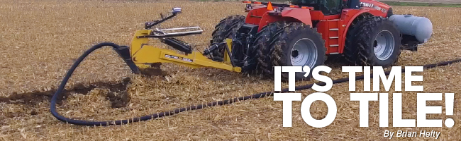 Agronomy. Answers. Yield. Aug/Sept 2020 Mobile Article Header Image It's time to Tile!