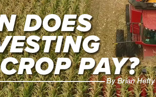 Agronomy. Answers. Yield. Aug/Sept 2020 Mobile Article Header Image When Does Harvesting Wet Crop Pay