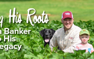 Agronomy. Answers. Yield. Aug/Sept 2020 Mobile Article Header Image Reclaiming His Roots