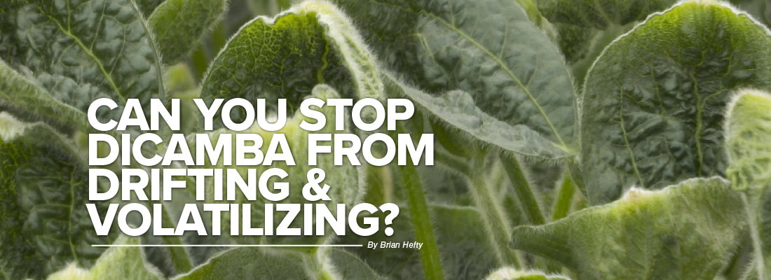 Can you stop dicamba from drifting & volatilizing mobile article header image