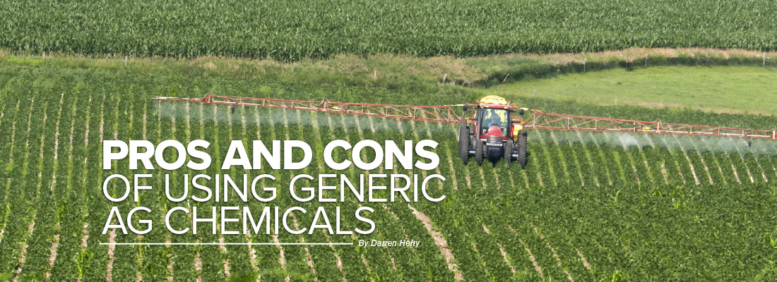 Pros and cons of using generic ag chemicals mobile article header image