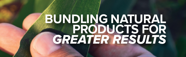 Article Header Image - Bundling Natural Products for GREATER RESULTS