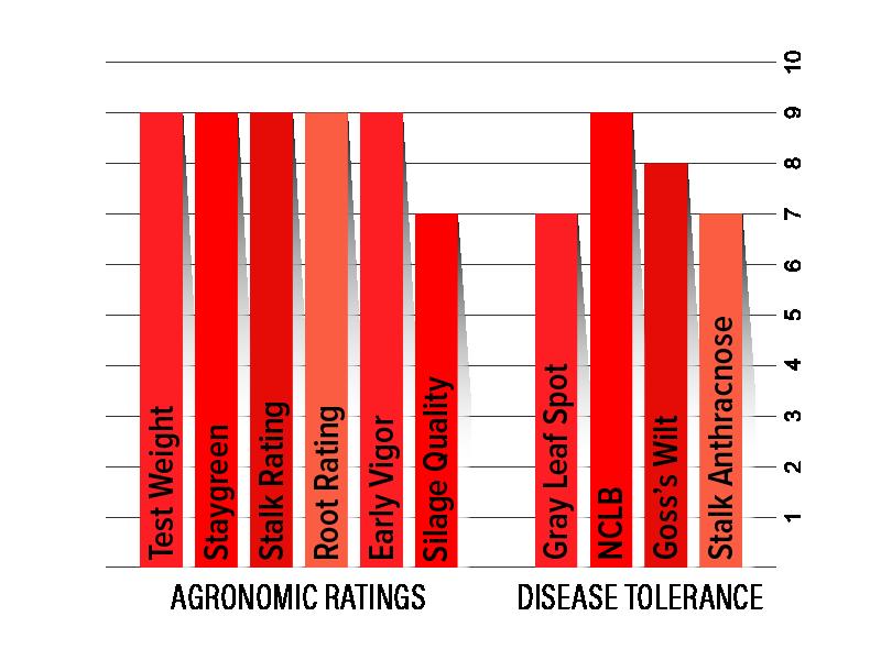 H2842 Agronomic Chart