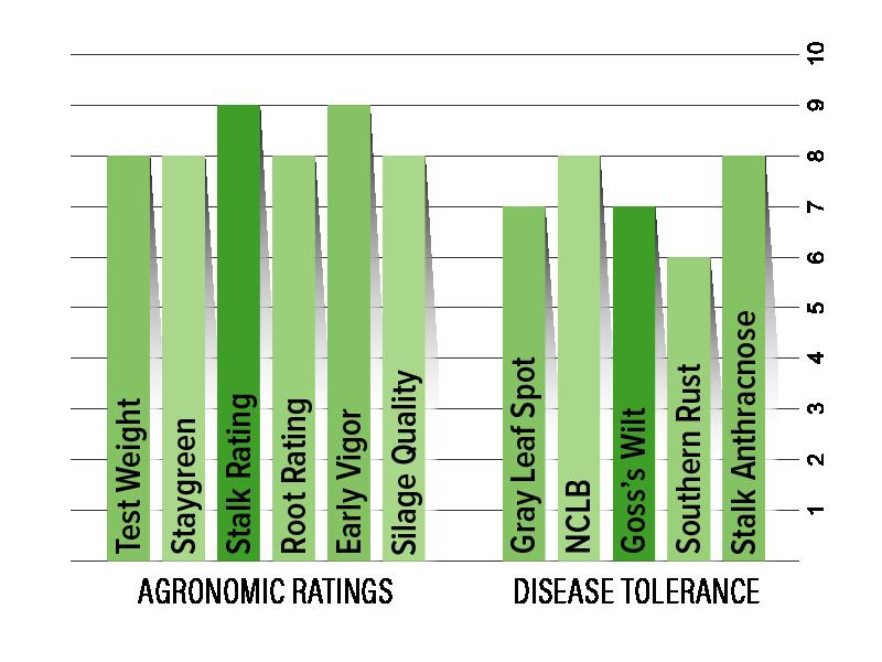 H4933 Agronomic Chart