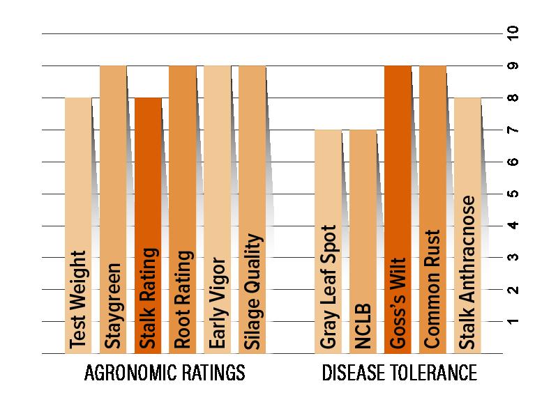 H5055 Agronomic Chart