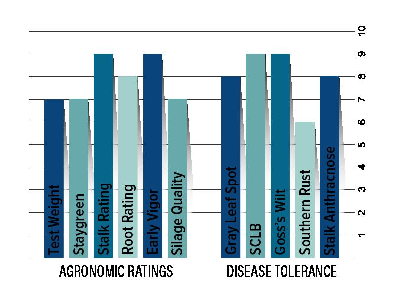 H6354 Agronomic Chart
